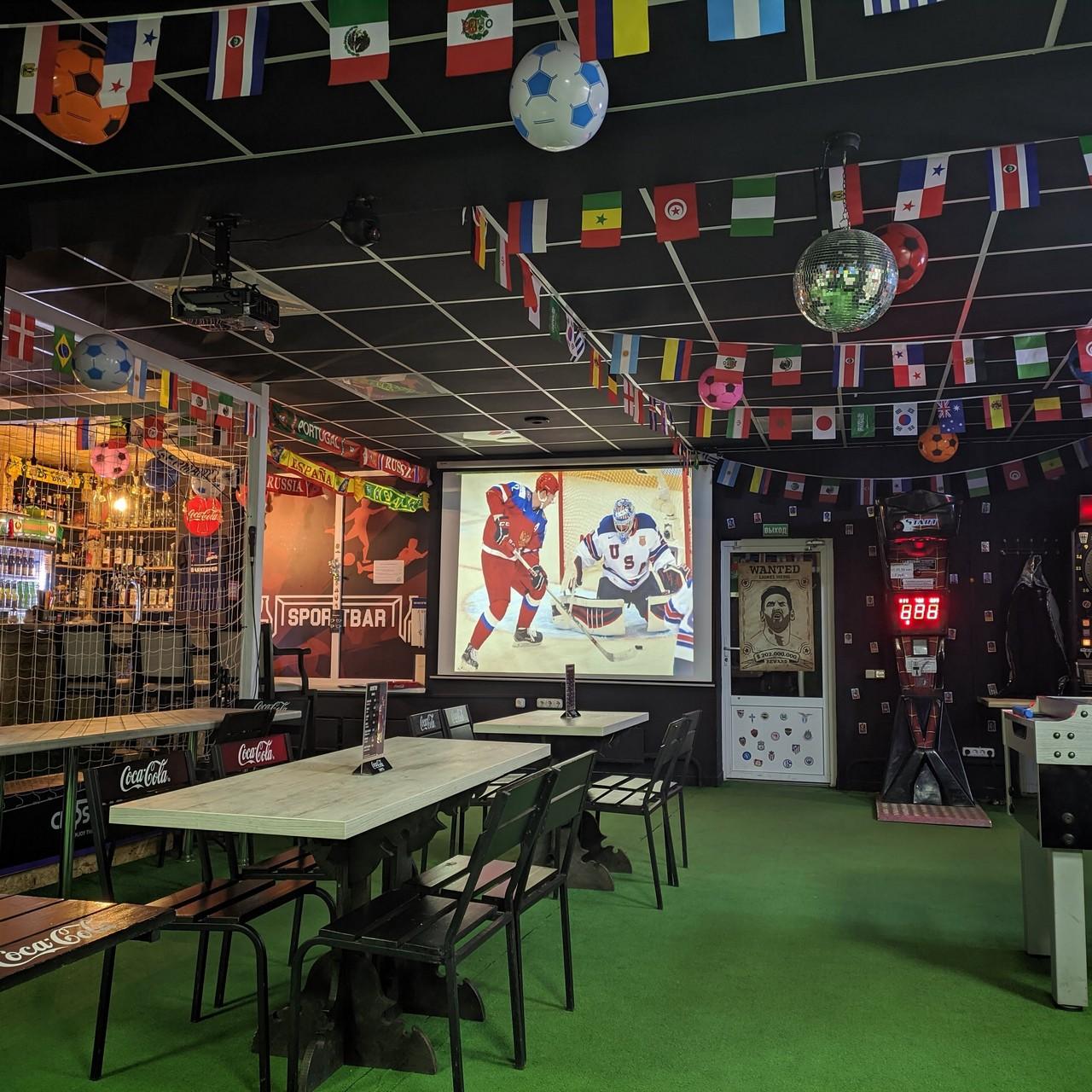 трансляция хоккея в баре сегодня_crossbar_minsk