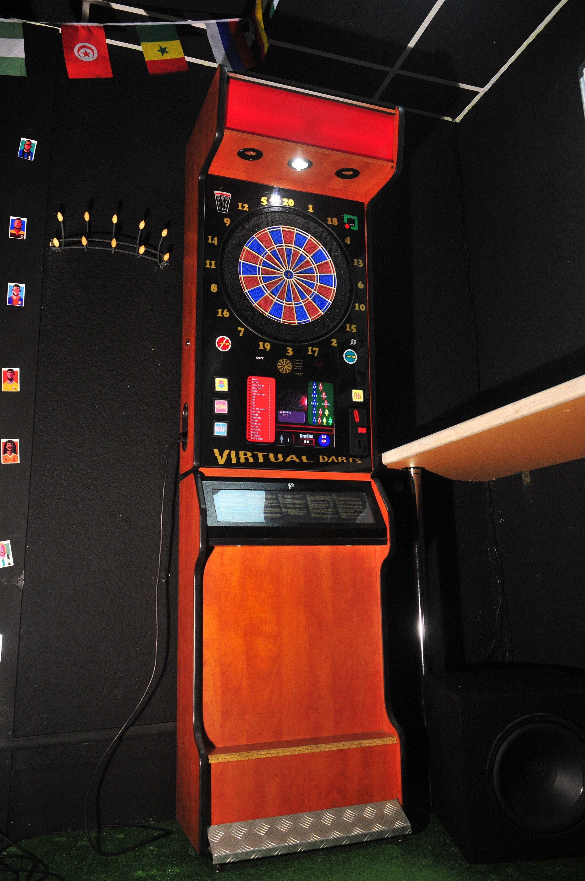 электронный дартс клуб в баре CrossBAR Minsk
