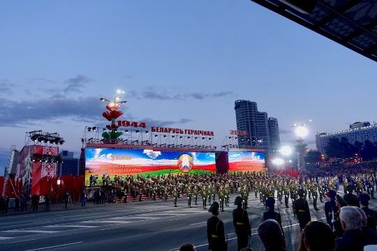 Парад ко Дню Независимости Беларуси