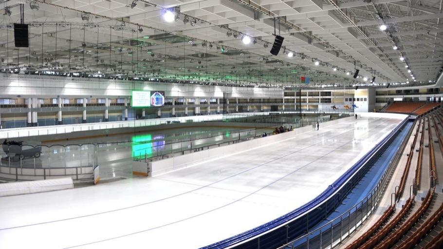 Минск-Арена: Конькобежный стадион