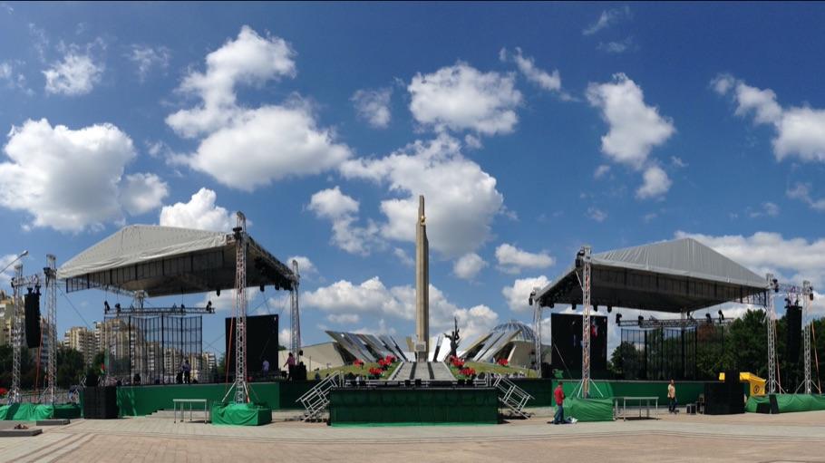 Большой сценический комплекс для Минска