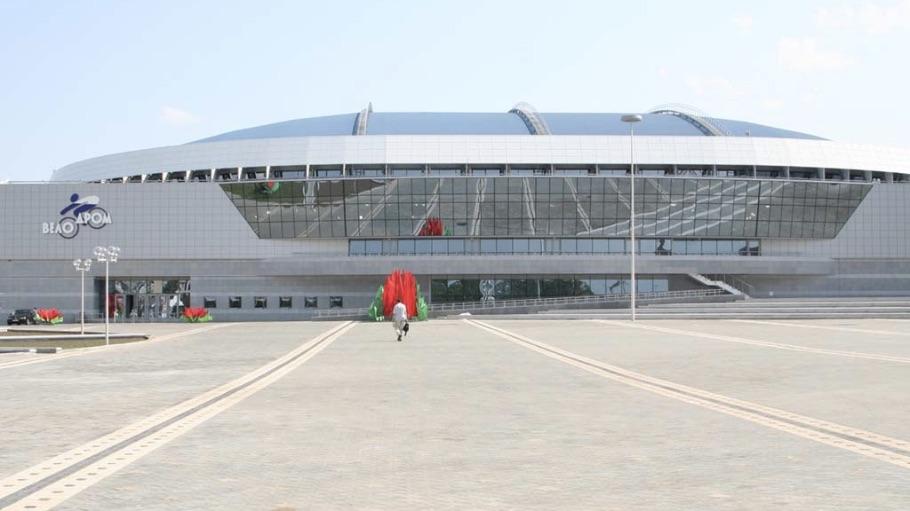 Минск-Арена: Велотрек