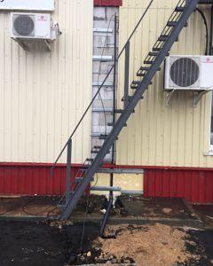 прокладка сети в фасаде здания