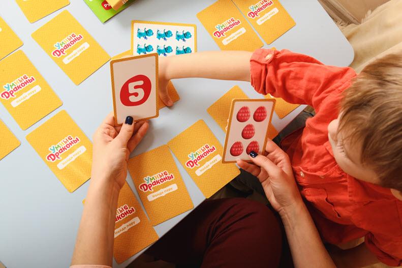 Умные драконы Считаем и понимаем по сингапурскому методу Умница 5 обучающих игр