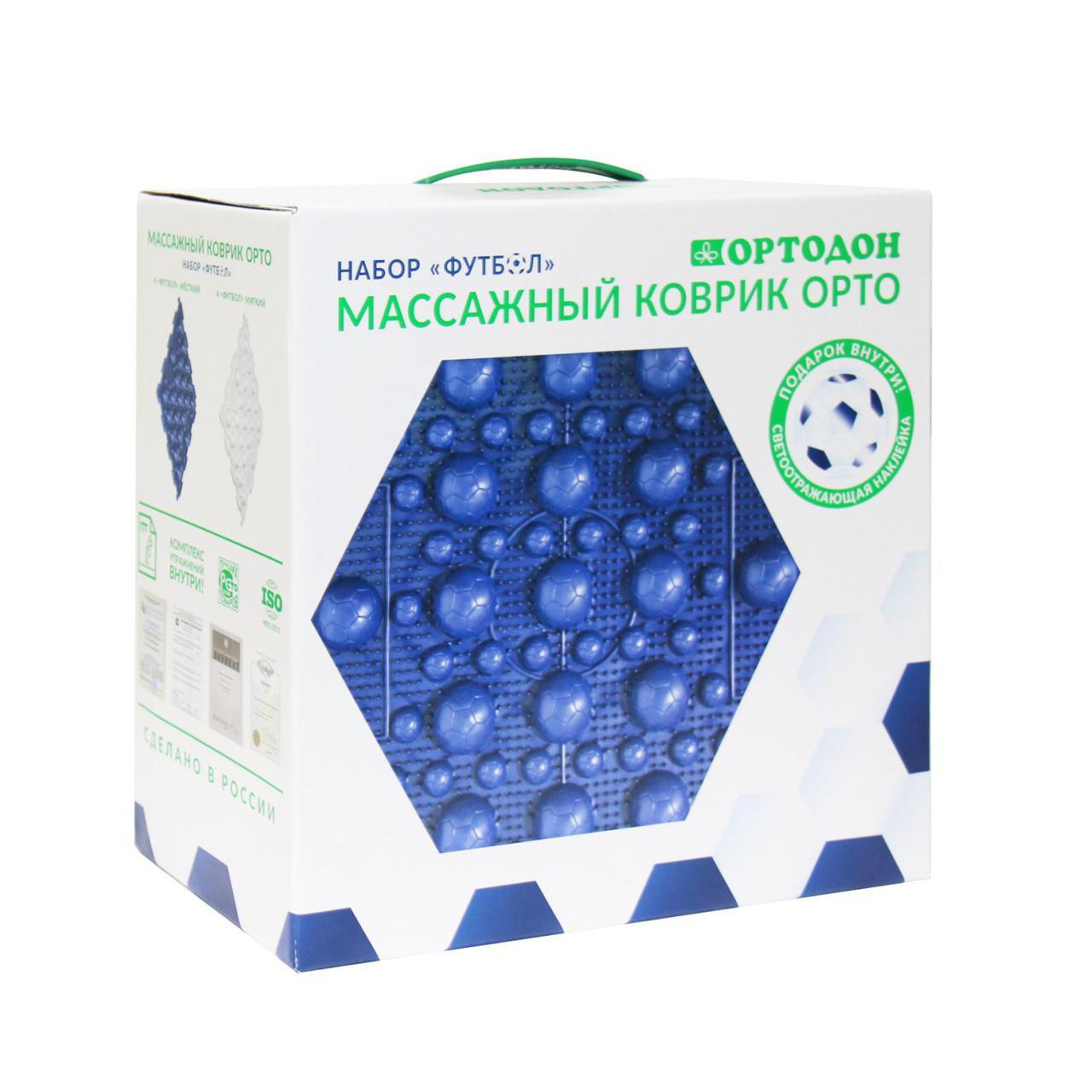 Футбол 8 пазлов Ортодон ортопедический массажный коврик ОРТО