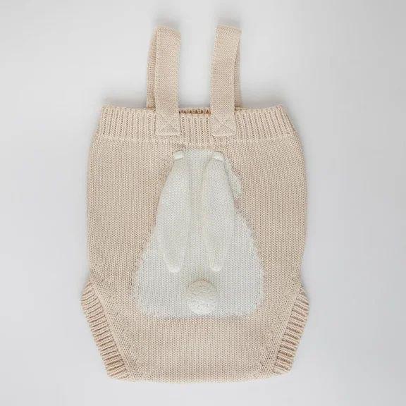 LITTLE BUNNY APERO лён (пшеничный + молочный) детское боди 3-6 месяцев