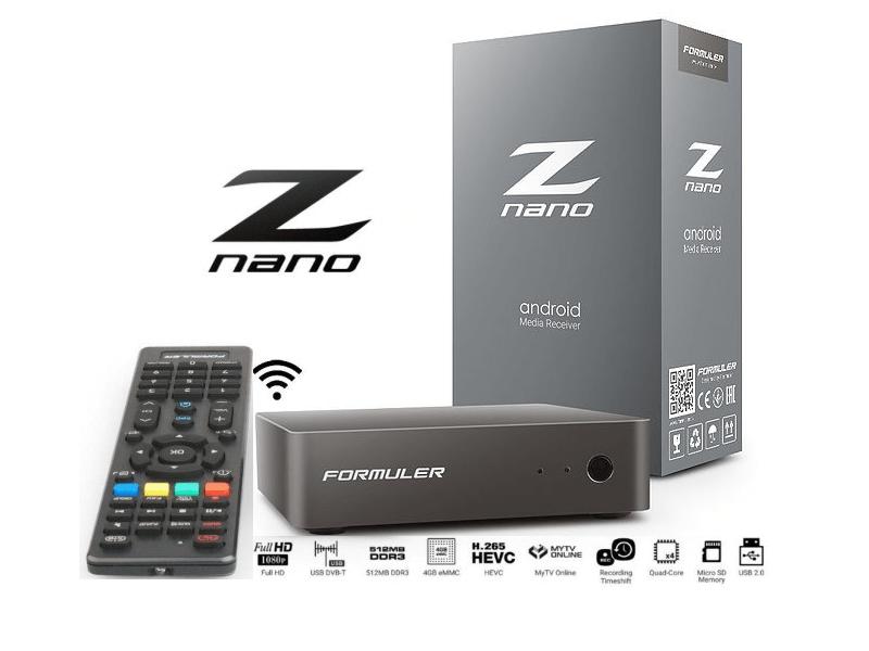 картинка Formuler Z Nano от магазина BYNET.TEL
