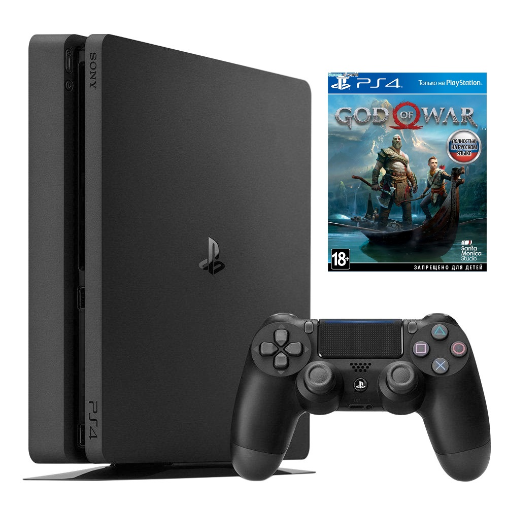 SONY PS4 slim 1 TB + GOD OF WAR 2018 от магазина Games of World