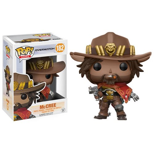 Фигурка FUNKO POP Overwatch McCREE от магазина Games of World