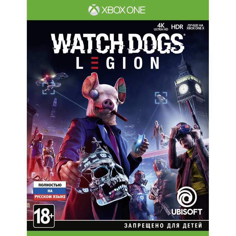 WATCH_DOGS: LEGION (XBOX ONE) от магазина Games of World