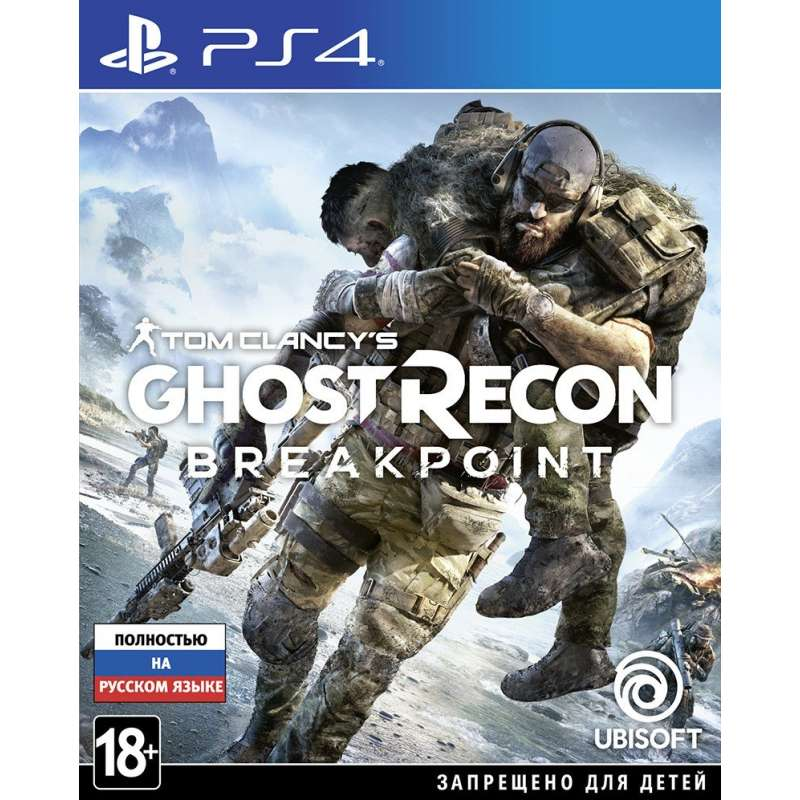 TOM CLANCY'S GHOST RECON BREAKPOINT (PS4) от магазина Games of World