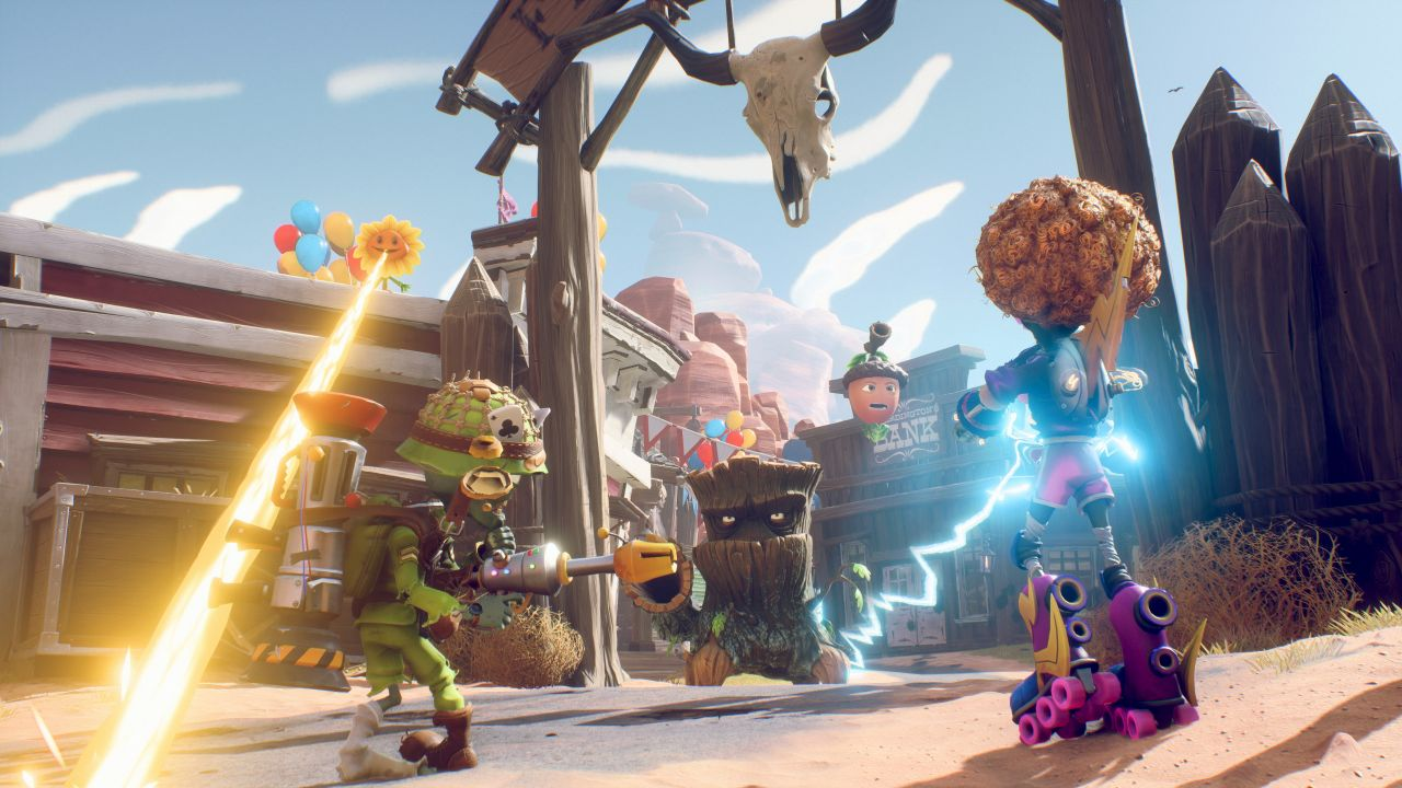 PLANTS VS. ZOMBIES: БИТВА ЗА НЕЙБОРВИЛЬ ДЛЯ PLAYSTATION 4 купить от магазина Games of World
