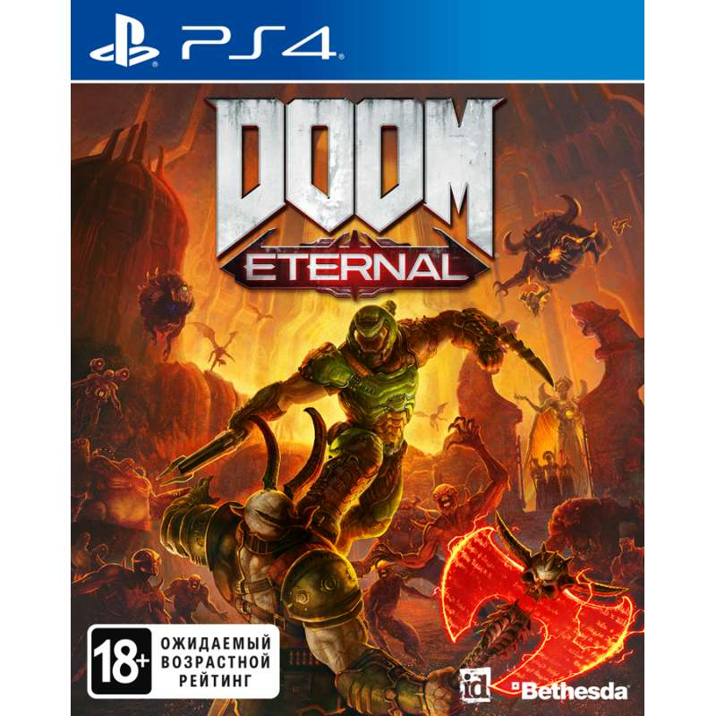 DOOM ETERNAL (PS4) от магазина Games of World