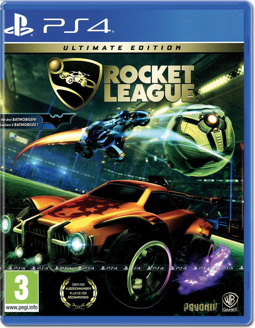 Rocket League Ultimate Edition (PS4) купить от магазина Games of World