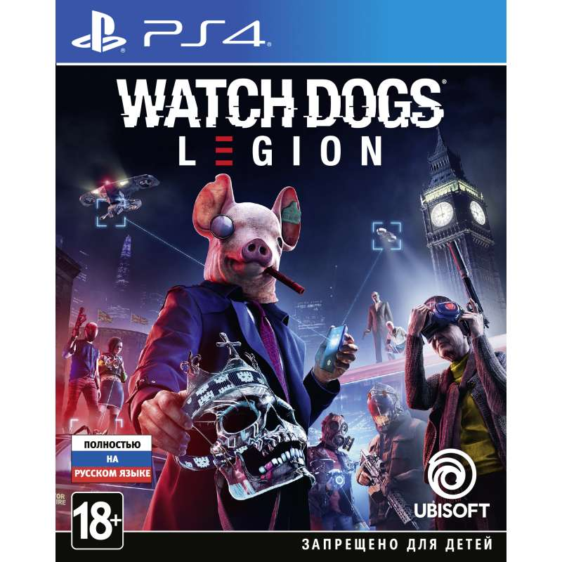 WATCH_DOGS: LEGION (PS4) от магазина Games of World